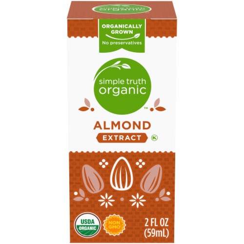Simple Truth Organic™ Almond Extract Perspective: front