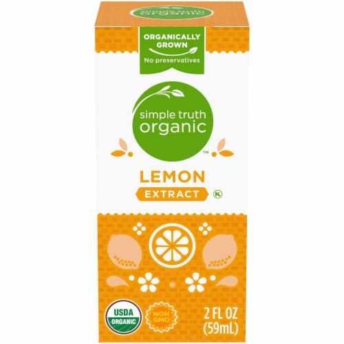 Simple Truth Organic™ Lemon Extract Perspective: front