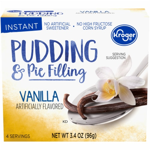Kroger® Vanilla Pudding & Pie Filling Perspective: front