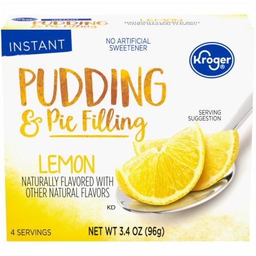 Kroger® Lemon Pudding & Pie Filling Perspective: front