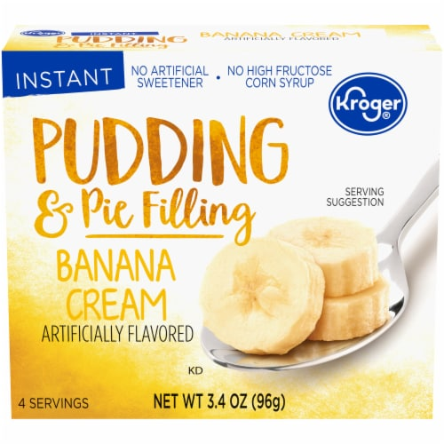 Kroger® Banana Cream Pudding & Pie Filling Perspective: front