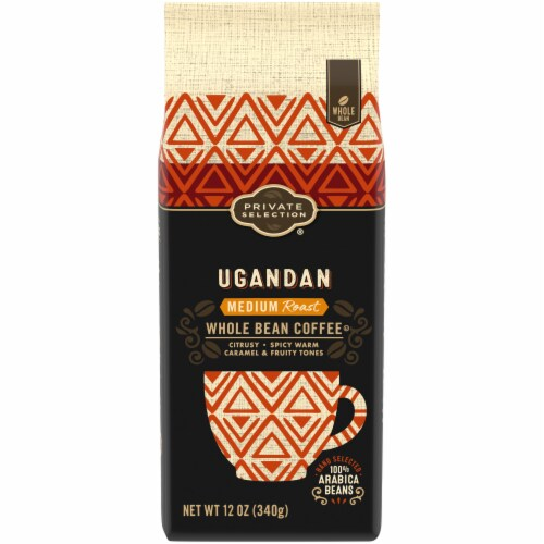 Private Selection® Medium Roast Ugandan Whole Bean Coffee Perspective: front