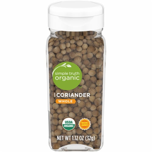 Simple Truth Organic™ Whole Coriander Perspective: front