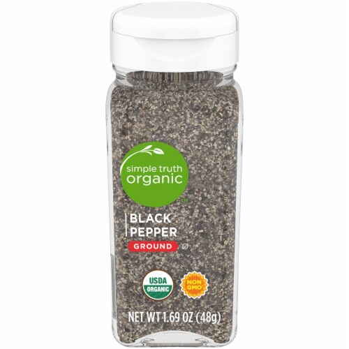 Simple Truth Organic™ Ground Black Pepper Perspective: front