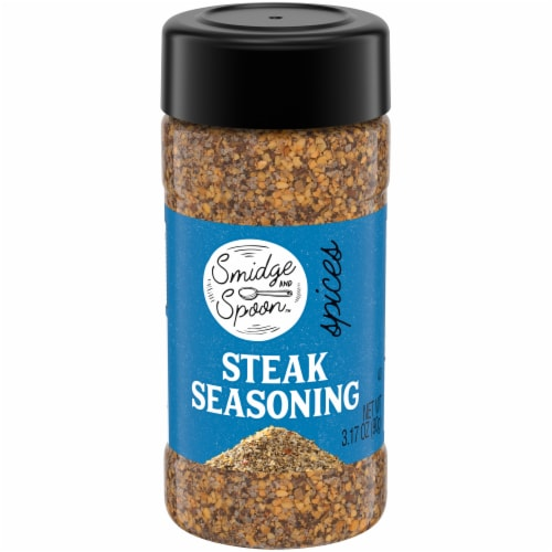 Smidge and Spoon™ Steak Seasoning Perspective: front