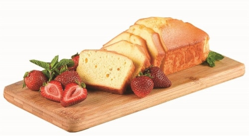 Bakery All Butter Pound Cake Perspective: front