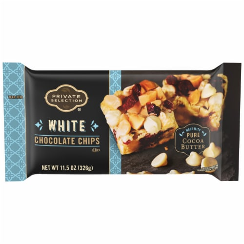 Private Selection™ White Chocolate Chips Perspective: front
