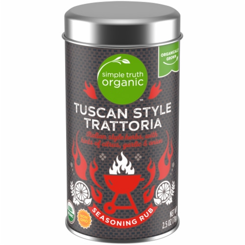Simple Truth Organic™ Tuscan Style Trattoria Seasoning Rub Perspective: front