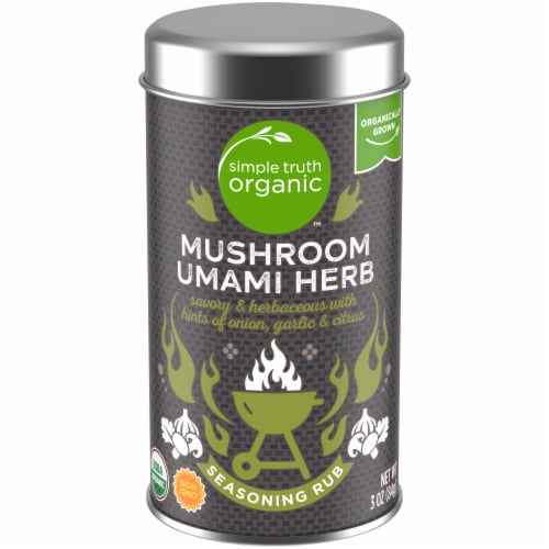 Simple Truth Organic™ Mushroom Umami Herb Seasoning Rub Perspective: front