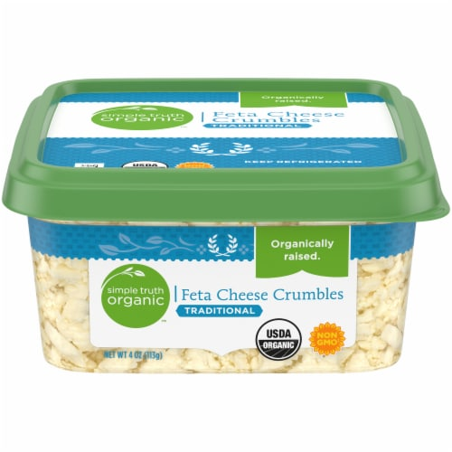 Simple Truth Organic™ Feta Cheese Crumbles Perspective: front