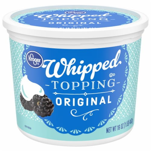 Kroger® Original Whipped Topping Perspective: front