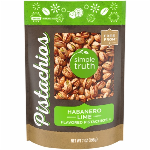 Simple Truth® Habanero Lime Flavored Pistachios Perspective: front