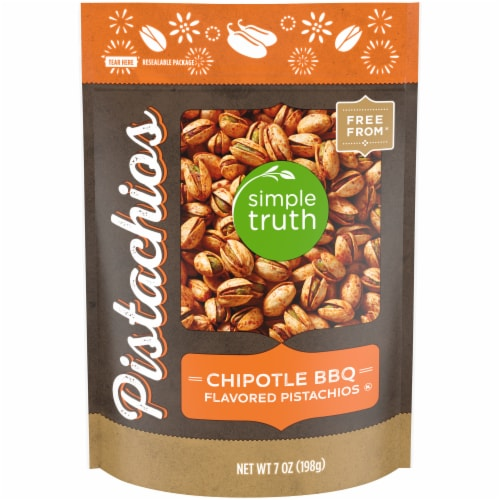 Simple Truth™ Chipotle BBQ Pistachios Pouch Perspective: front