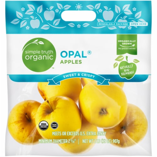 Simple Truth Organic™ Opal® Apples Bag Perspective: front