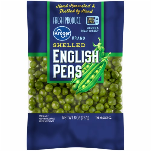 Kroger® Shelled English Peas Perspective: front