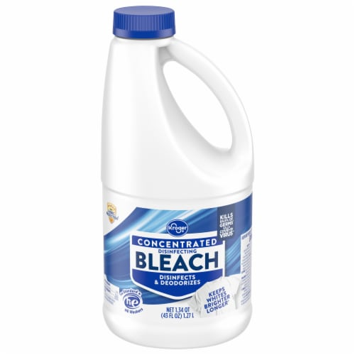 Kroger® Concentrated Disinfecting Bleach Perspective: front