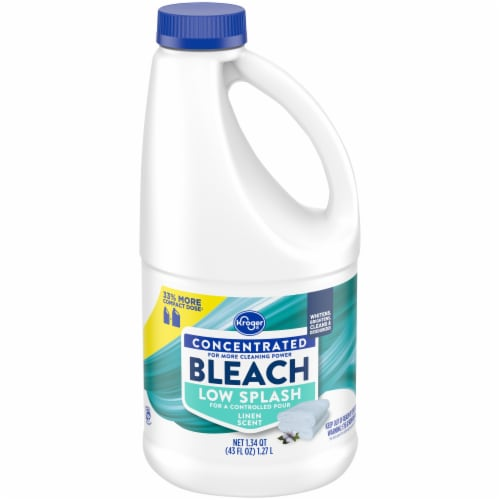 Kroger® Linen Scent Low Splash Bleach Perspective: front