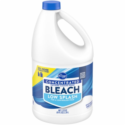 Kroger® Low Splash Concentrated Bleach Perspective: front