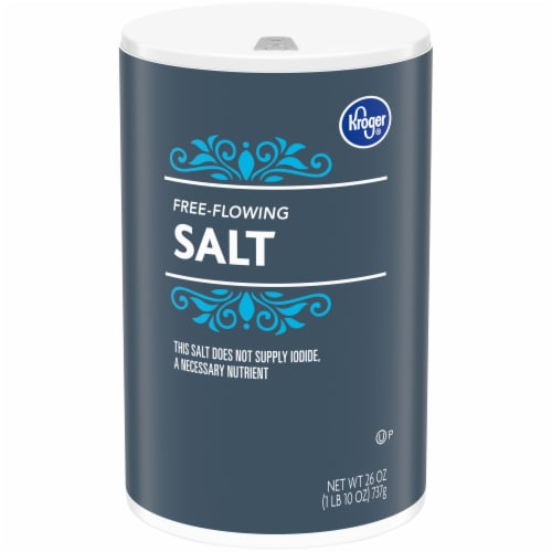 Kroger® Free Flowing Salt Perspective: front