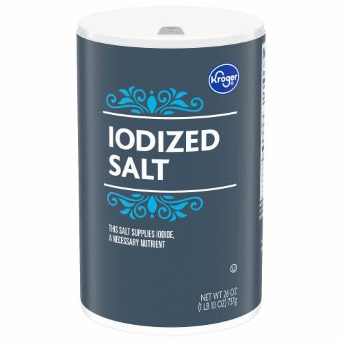 Kroger® Iodized Salt Perspective: front