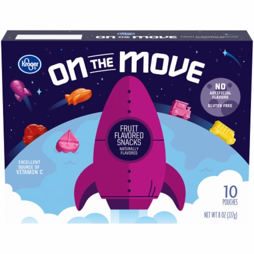 Kroger® On the Move Fruit-Flavored Snacks Perspective: front
