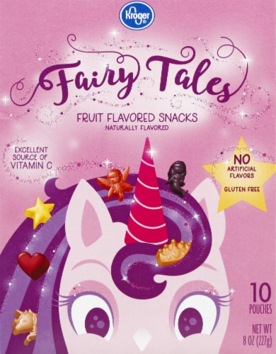 Kroger® Fairy Tales Fruit-Flavored Snacks Perspective: front
