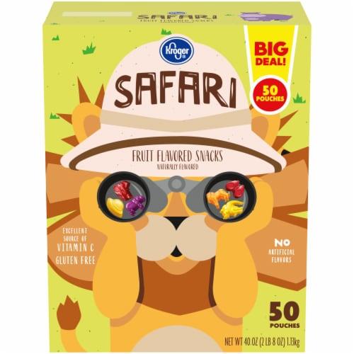 Kroger® Safari Fruit-Flavored Snacks Perspective: front
