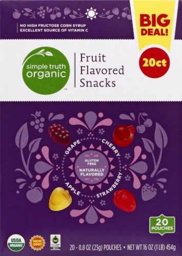 Simple Truth Organic™ Fruit Flavored Snacks Perspective: front