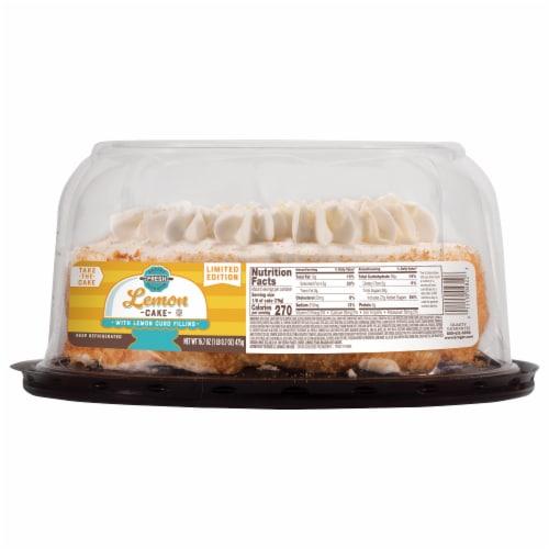 Bakery Fresh Goodness Lemon Cake Perspective: front