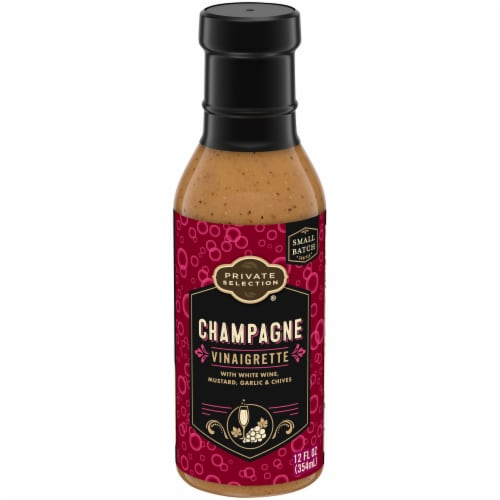 Private Selection® Champagne Vinaigrette Dressing Perspective: front