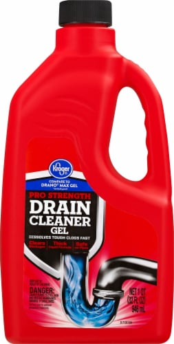 Kroger® Pro Strength Drain Cleaner Gel Perspective: front