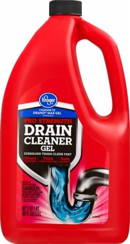 Kroger® Pro Strength Drain Cleaner Gel Perspective: front