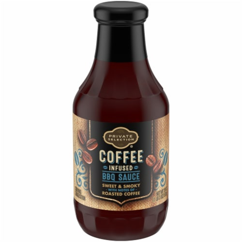 Private Selection® Coffee Infused BBQ Sauce Perspective: front