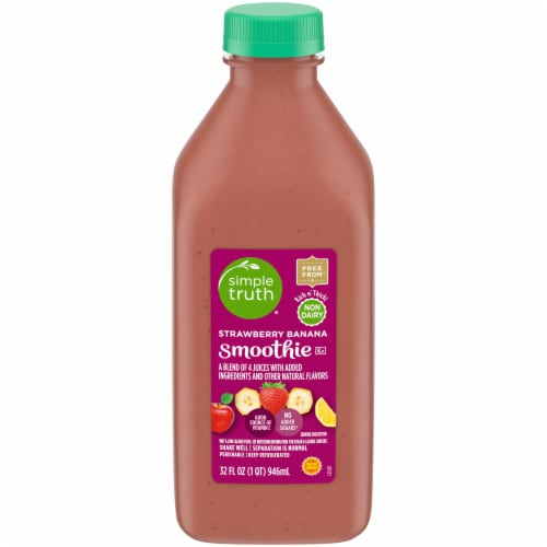 Simple Truth® Strawberry Banana Smoothie Perspective: front