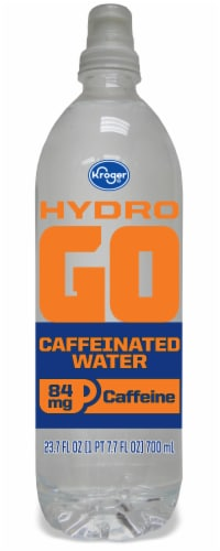 Kroger® Hydro GO Caffeinated Water Perspective: front