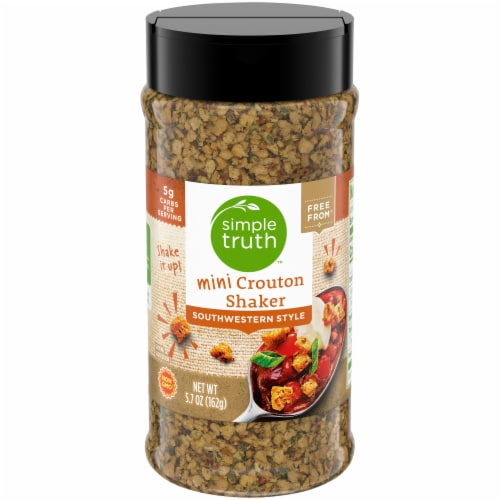 Simple Truth™ Southwestern Style Mini Crouton Shaker Perspective: front