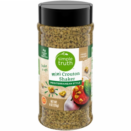 Simple Truth™ Mediterranean Style Mini Crouton Shaker Perspective: front