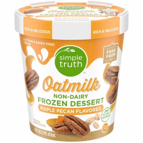 Simple Truth™ Maple Pecan Oatmilk Non-Dairy Frozen Dessert Perspective: front