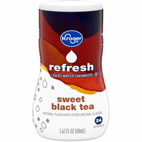 Kroger® Refresh Sweet Black Tea Liquid Water Enhancer Perspective: front