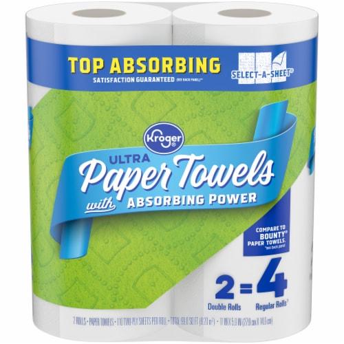 Kroger® Ultra Paper Towels Perspective: front