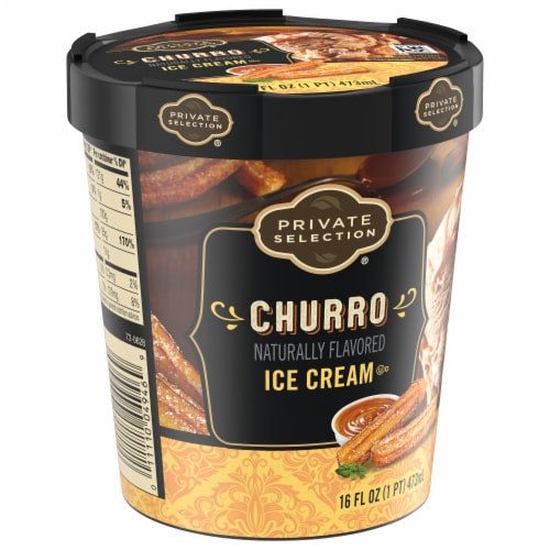 Private Selection® Churro Ice Cream Perspective: front