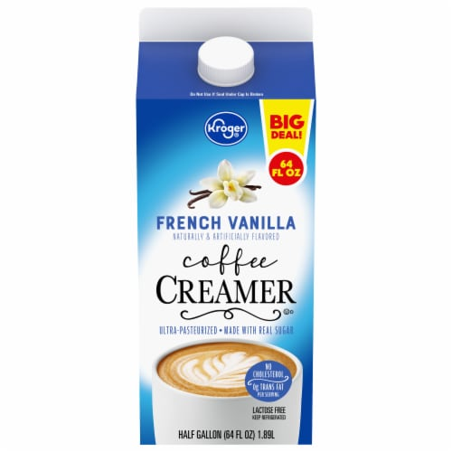 Kroger® French Vanilla Coffee Creamer Perspective: front