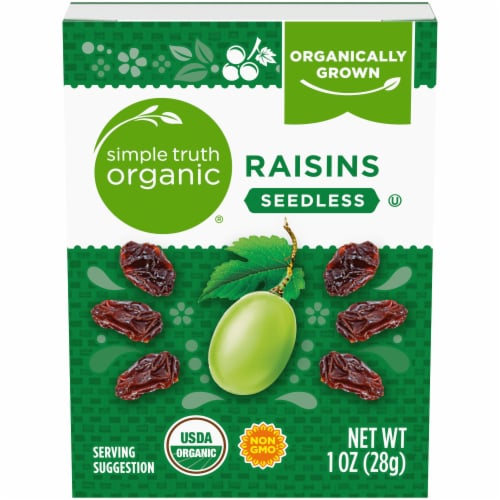 Simple Truth Organic® Seedless Raisins Perspective: front