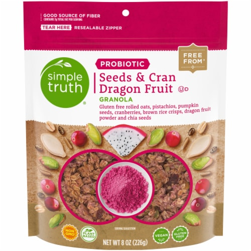 Simple Truth™ Probiotic Seeds & Cran Dragon Fruit Granola Perspective: front