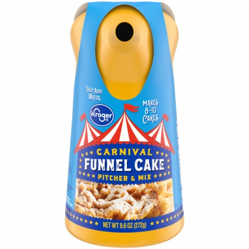 Kroger® Carnival Funnel Cake Pitcher & Mix Perspective: front