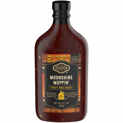 Private Selection® Moonshine Moppin Craft BBQ Sauce Perspective: front
