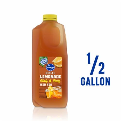 Kroger® Decaf Half and Half Lemonade and Iced Tea Perspective: front