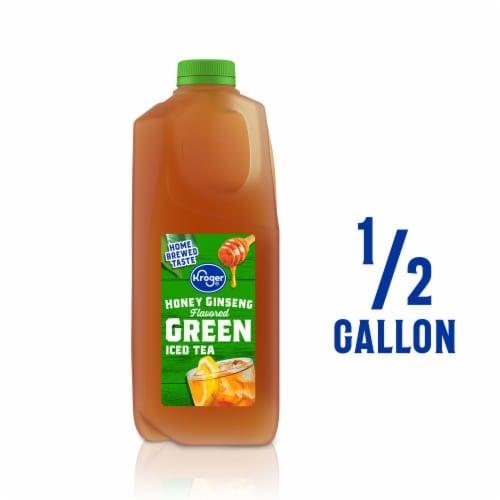 Kroger® Honey Ginseng Green Iced Tea Perspective: front