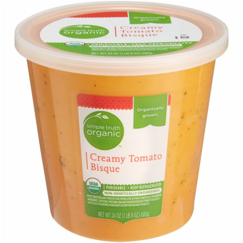 Simple Truth Organic™ Creamy Tomato Bisque Perspective: front