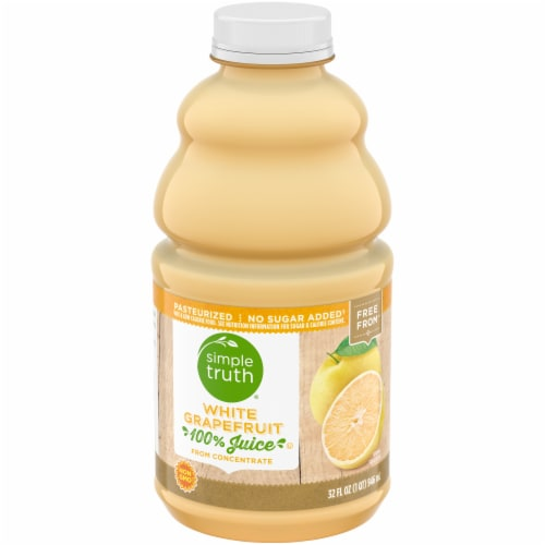 Simple Truth® White Grapefruit Juice Perspective: front